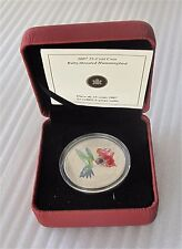 2007 Canada 25 Cents Ruby-throated Hummingbird Special Strike