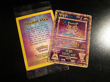 EX Sealed ANCIENT MEW Promo Pokemon The MOVIE 2000 Card Ultra Rare Holo Japanese