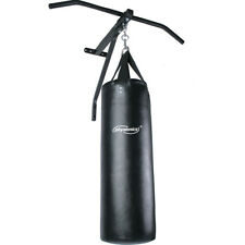 Pull Up Bar with Punch Bag 83cm Chin Up Bar Wall Mounted Boxing Gym Workout