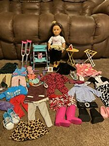 """Our Generation Doll & Clothes Lot Of Outfits & Accessories 18"""" Fit American Girl"""