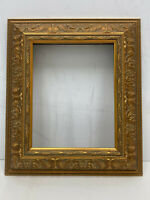 """Ornate Molding Vintage Gold Picture Frame 9.5"""" H x 7.5"""" W #41"""