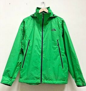✅Men's The North Face Green ✅Hyvent Light Weight Hooded Rain Jacket  Size Large✅