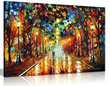Leonid Afremov Abstract Oil Painting Canvas Wall Art Framed  20X30''