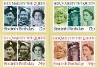GB POSTCARDS PHQ CARDS NO. 91 MINT FULL SET 1986 QUEEN 60TH BIRTHDAY 10% OFF 5+