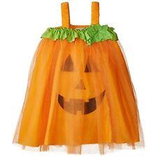 New Mud Pie Fall Halloween PUMPKIN TULLE Dress Orange 12 mos to 4T Girl costume
