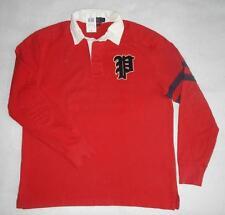 Ralph Lauren Men's Cotton Rugby Casual Shirts & Tops