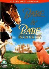Babe / Babe 2 : Pig In City (2 DVD Set / 2005) NEW SEALED FREEPOST
