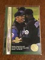 2000 World Series Topps Baseball Base Card #59 - Bobby Valentine - New York Mets