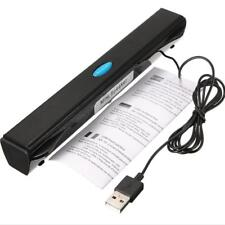 POWERFUL USB Stereo Speaker Music Player for Computer Desktop Laptop Notebook PC