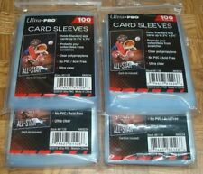 🚨 400 NEW SOFT PENNY ULTRA PRO CARD POLY SLEEVES fits 3X4 TOPLOADERS