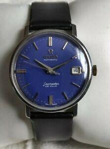 Vintage Omega Seamaster De Ville Auto. Date Cal. 562 Stainlass Steel Men's Watch