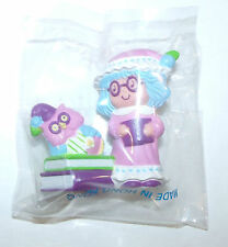 Vintage Strawberry Shortcake Mini PVC Figure Plum Puddin in PJ's NEW IN PACKAGE