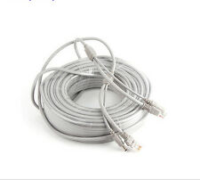 10M/33ft Cat5E Network Ethernet LAN /Power extension Cable for CCTV IP Camera