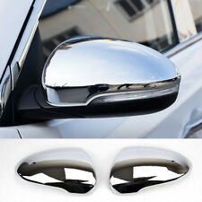 For Hyundai Tucson 2016- Chrome Rear View Side Mirror Cover Trim Overlay Molding