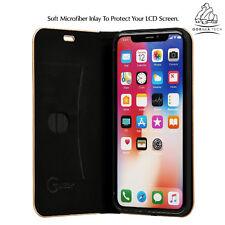 Gorilla Tech Durable Carbon Fibre Ultra Lightweight Slim Book Full Cover Apple iPhone 8 Plus Black