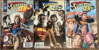 Superman Gen 13 #1-3 FULL SET~J Scott Campbell Variant Cover DC/Wildstorm 2000