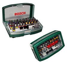 2 x Bosch Bit Satz 32 tlg Bits Bitsatz Schnellwechsel Bithalter Magnethalter Neu