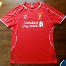 Liverpool FC 2014 Warrior Home Shirt Medium 7.5/10 Condition