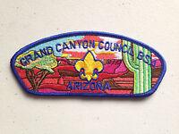 BOY SCOUT BSA CSP COUNCIL PATCH GRAND CANYON ARIZONA PERFECT COLORFUL