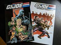 IDW GI JOE Special Missions Vol 1 and Origins Vol 1 TPB (two paperbacks)