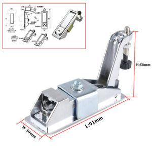 Latch Lock Kit Toolbox Cabinet Luggage Compressed Latch+2PCS Key For RV Trailer