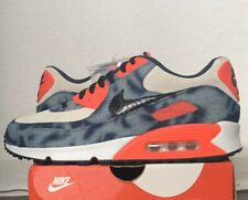 Nike air Max 90 Infrared QS Denim  Wash Uk 8 New