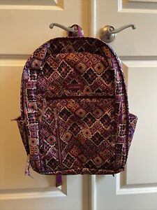 Vera Bradley Lighten Up Grand Backpack in Dream Diamond