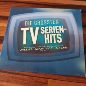 VARIOUS : Die Grössten TV Serien Hits  SLI  > VG+ (CD)