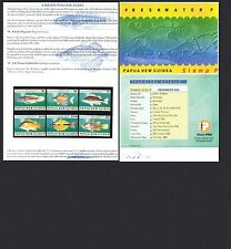 Fish Papua New Guinean Stamps (1975-Now)