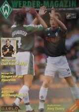 Programm 1997/98 SV Werder Bremen - Mönchengladbach