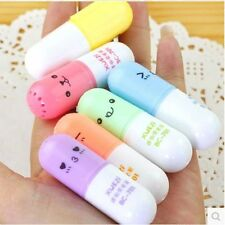 Shaped Writing Stationery Marker Supplies Korean Graffiti 6 Office Face School