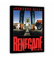 Leinwand - Kino - Renegade - Terence Hill - Renato Casaro Edition