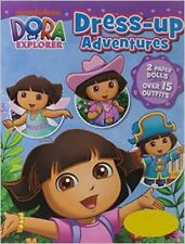Nickelodeon Dora the Explorer Dress-Up Adventures: 2 Paper Dolls, Over 15 Outfit