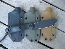Valhalla Custom Kydex Sheath Ka-Bar Becker BK16 Drop Point OD GREEN SHEATH ONLY