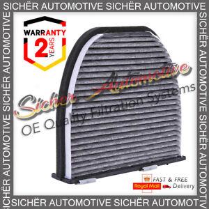 Genuine Sicher Mercedes-Benz W204 C Class 07- 15 Carbon Pollen Cabin Air Filter