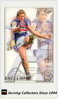2002 Select AFL Exclusive All Australia Team AA22 Nathan Brown(Western Bulldogs)