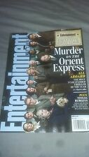 Entertainment Weekly-Murder On The Orient Express-Johnny Depp-Michelle Pfeiffer
