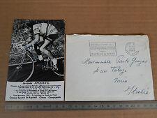 AUTOGRAFO Jacques Anquetil 1966 autograph signed photo CAMPAGNOLO EROICA BIANCHI