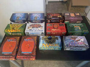 Magic the Gathering MTG Vintage Empty Booster Box Lot Dark 4th Ice Age +more!