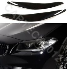 Fits BMW 5 Series F10, F11 Pre FaceLift Headlights  Eyebrows ABS PLASTIC, TUNING