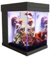 [Black] JBJ Mini Cubey 3 Gallon Pico LED Series Nano Cube Aquarium Fish Tank