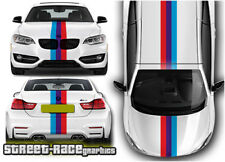 BMW racing stripes OTT001 graphics stickers decals M sport 1 2 3 4 5 series