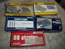 20000+ STANLEY BOSTITCH STANDARD STAPLES CHISEL POINT SBS19 1/4CP STCRP2115 B8 +