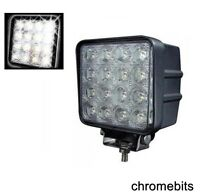2X 48W Carré LED 12V/24V Travail Phare Anti Brouillard Lampes Hors Route Jeep