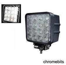 4x 48W Square LED 12V/24V Works Nebel Scheinwerfer Lampe Off-Road Jeep LKW