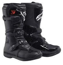 Alpinestars Tech 3S Youth Boots Motocross Enduro Stiefel schwarz Größe 08-42