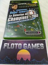 Jeu Roger Lemerre 2003 pour X-Box XBOX PAL Complet CIB - Floto Games
