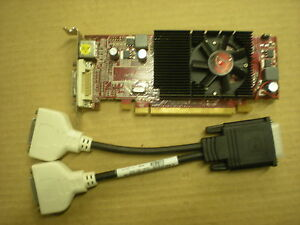 VISIONTEK 4350 512MB DMS PCI-E Video Graphics Card 4350DMS512 VTK-400491T Cable