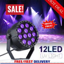 UV Black Light DMX 12 LED Stage Par Lighting Disco Bar DJ Light Party Spotlight