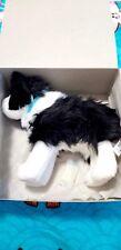 American Girl Saige's Dog Rembrandt black white Collie. Retired Nib